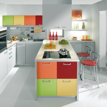 D coration cuisine couleur for Deco de cuisine 2014