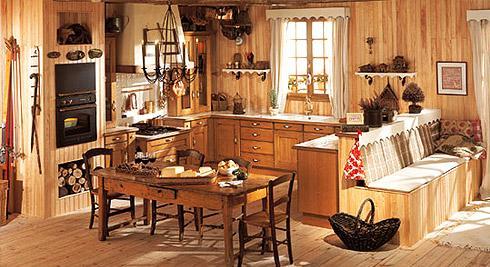 D coration cuisine d 39 antan for Deco cuisine campagnarde