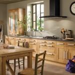 décoration cuisine en bois