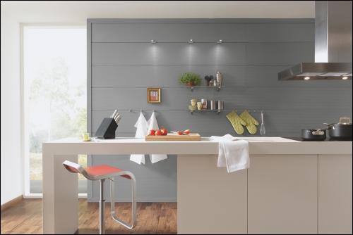 d coration cuisine lambris. Black Bedroom Furniture Sets. Home Design Ideas