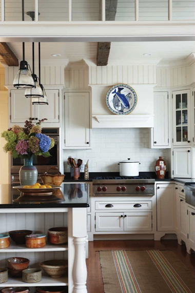 decoration cuisine avec lambris