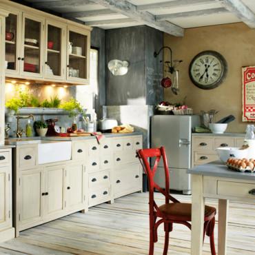 D coration cuisine petit budget for Deco salon petit budget