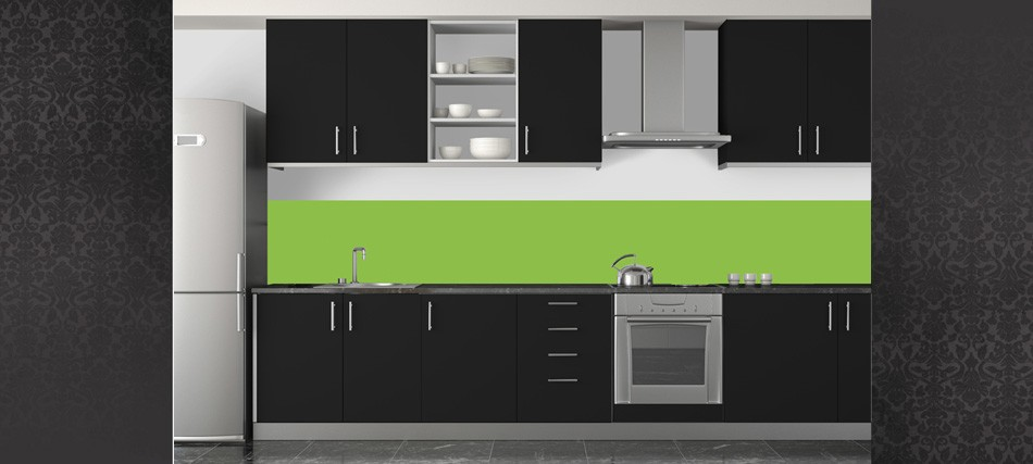 d co cuisine vert pomme. Black Bedroom Furniture Sets. Home Design Ideas