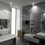 décoration dans une salle de bain