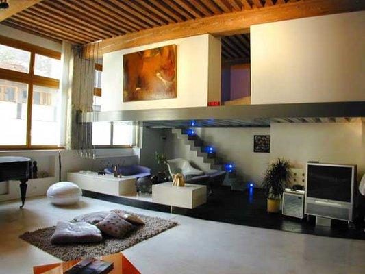 D coration dappartement en duplex for Modele deco appartement