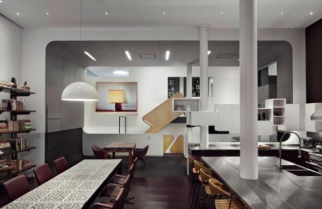 d coration d 39 un loft. Black Bedroom Furniture Sets. Home Design Ideas