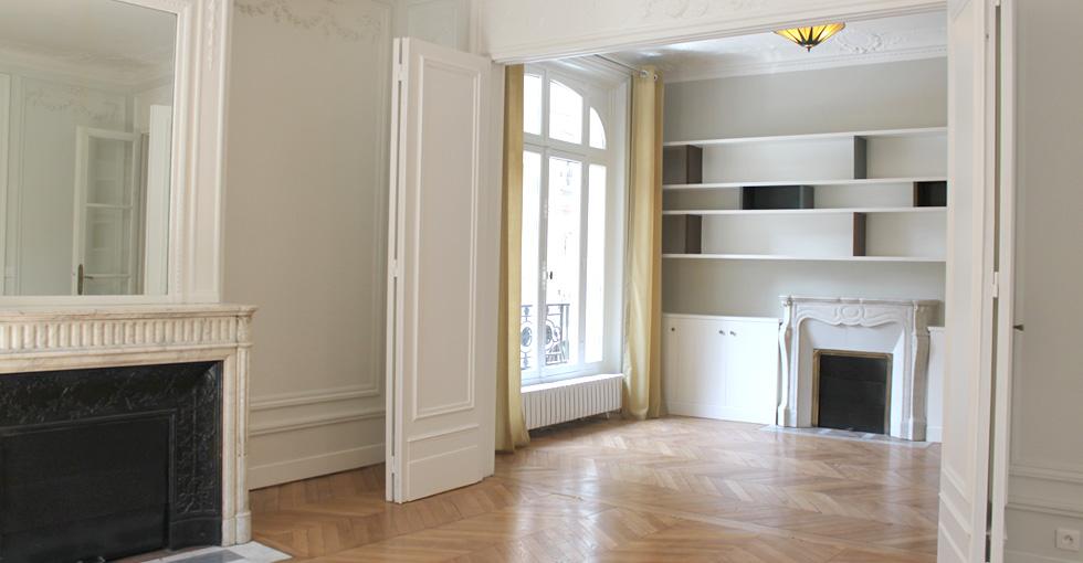 d coration int rieure appartement haussmannien. Black Bedroom Furniture Sets. Home Design Ideas