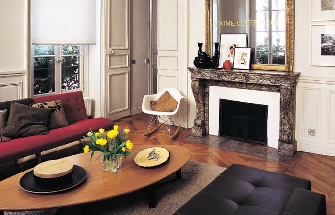 décoration intérieure appartement haussmannien .