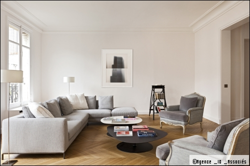 D coration interieur appartement parisien for Photo deco interieur