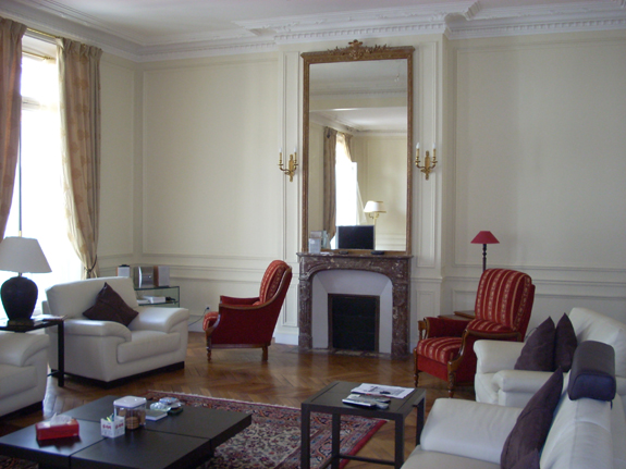 D coration interieur appartement parisien for Exemple decoration interieur