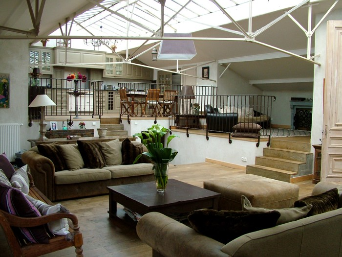 D coration interieur loft industriel - Decoration loft industriel ...