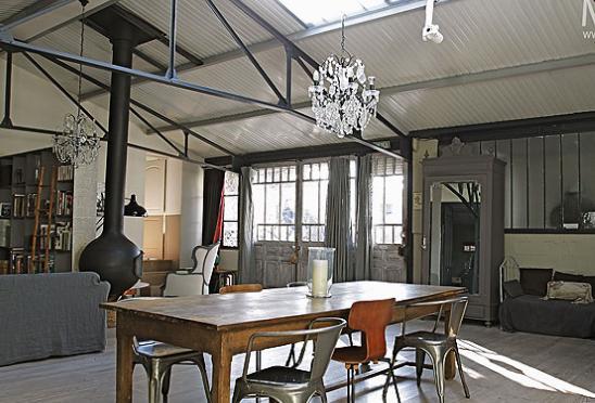 Interieur Loft Industriel organisation décoration interieur loft industriel