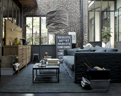 d coration loft atelier. Black Bedroom Furniture Sets. Home Design Ideas