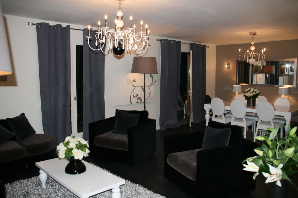 d coration luminaire salon. Black Bedroom Furniture Sets. Home Design Ideas