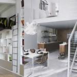 décoration mini loft