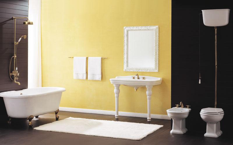 d coration salle de bain antique. Black Bedroom Furniture Sets. Home Design Ideas