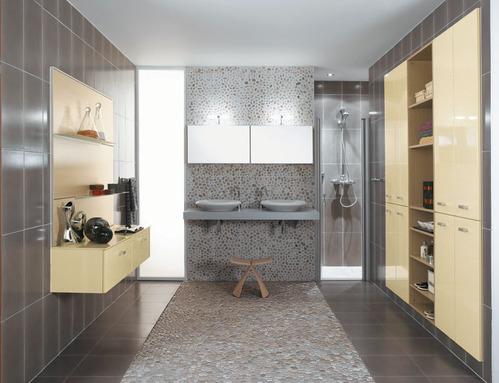 photo décoration salle de bain avec des galets - Salle De Bain Avec Galet