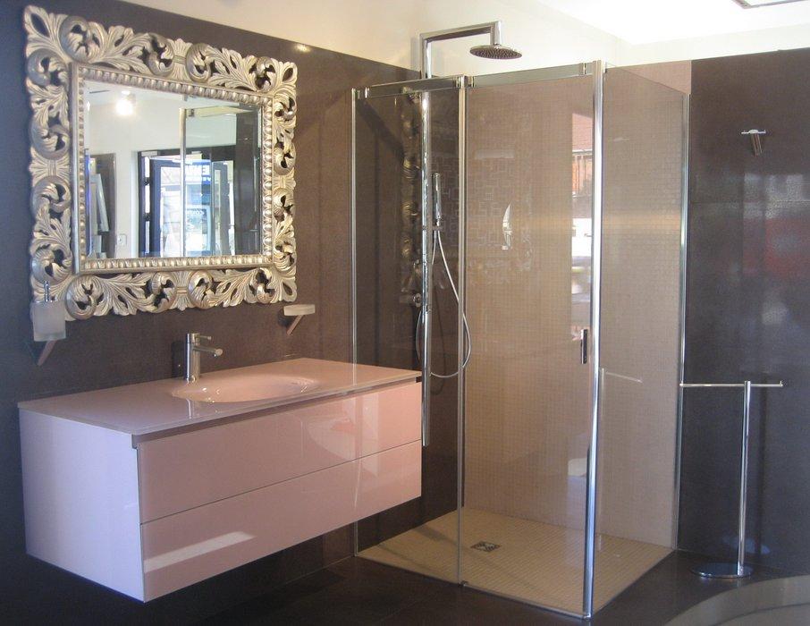 D coration salle de bain avec douche for Idee salle de douche
