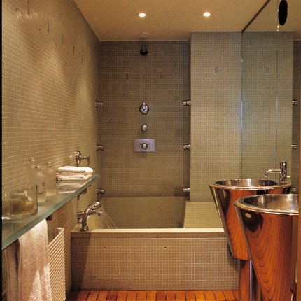 D coration salle de bain avec jacuzzi for Salle de bain jacuzzi