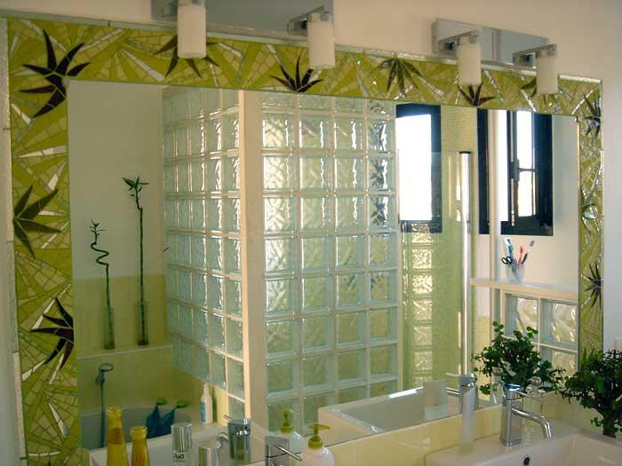 aménagement décoration salle de bain bambou - Photo Déco