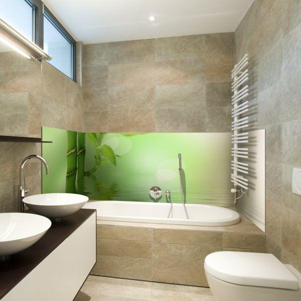 D coration salle de bain bambou - Salle de bain zen bambou ...