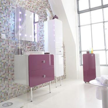 d coration salle de bain castorama. Black Bedroom Furniture Sets. Home Design Ideas