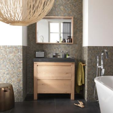 D coration salle de bain castorama for Castorama fr salle de bain