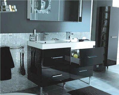 d coration salle de bain castorama. Black Bedroom Furniture Sets. Home Design Ideas
