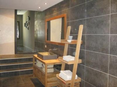 D coration salle de bain contemporaine for Deco chambre salle de bain