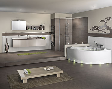 d coration salle de bain feng shui. Black Bedroom Furniture Sets. Home Design Ideas
