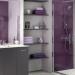 décoration salle de bain gris