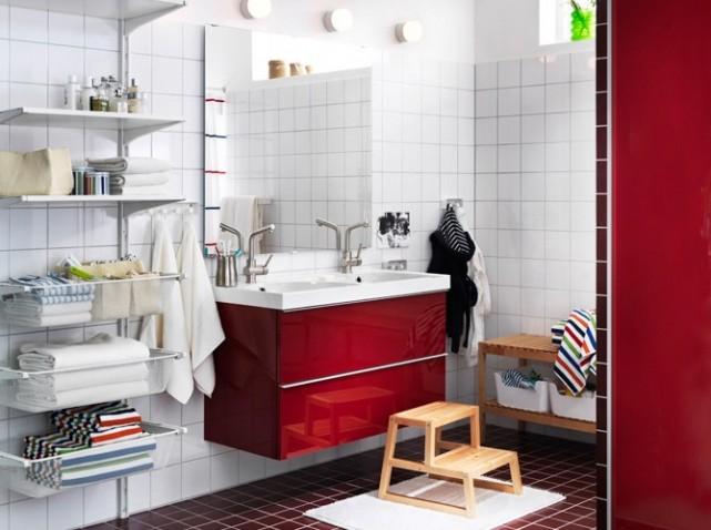 décoration salle de bain ikea