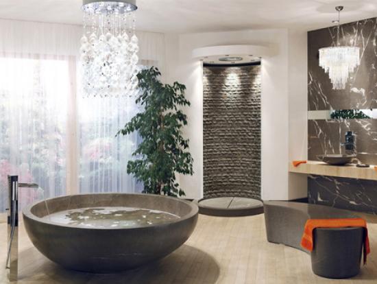 idée décoration salle de bain italienne