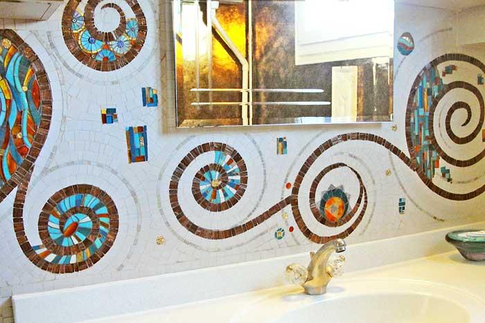 D Coration Salle De Bain Mosaique