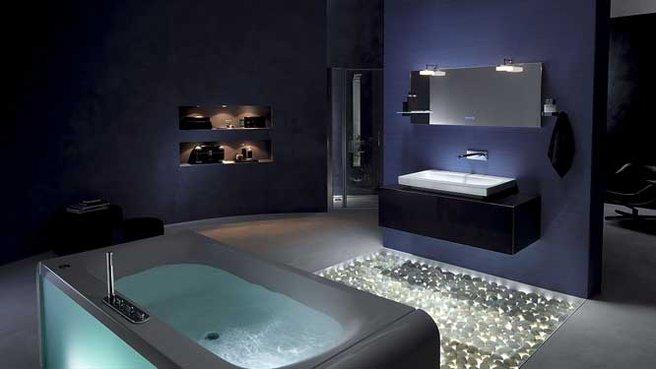 d coration salle de bain style spa. Black Bedroom Furniture Sets. Home Design Ideas
