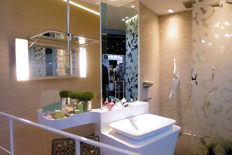 d coration salle de bain tendance 2012. Black Bedroom Furniture Sets. Home Design Ideas