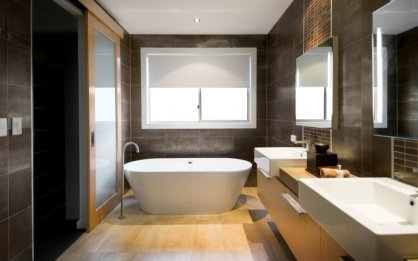 aménagement décoration salle de bain tendance