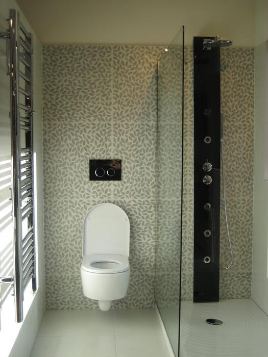 belle décoration salle de bain toilette