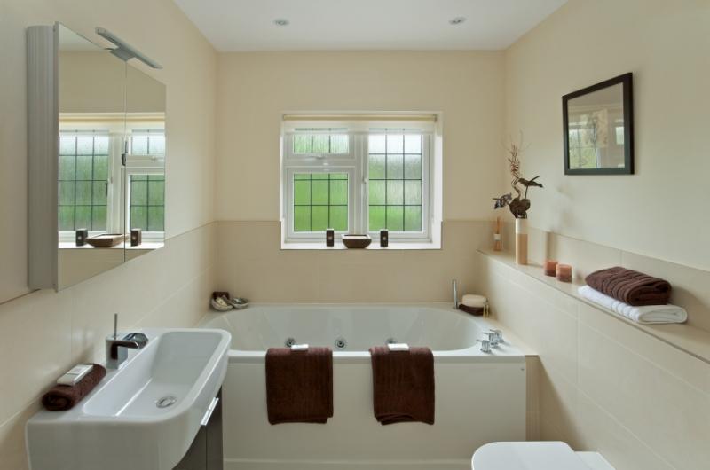 d coration salle de bain toilette. Black Bedroom Furniture Sets. Home Design Ideas