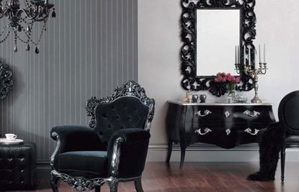 d coration salon baroque. Black Bedroom Furniture Sets. Home Design Ideas