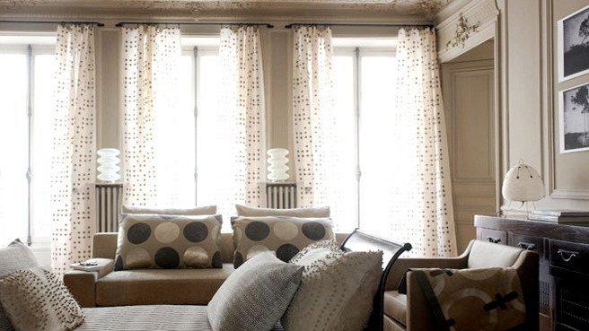 d coration salon beige. Black Bedroom Furniture Sets. Home Design Ideas