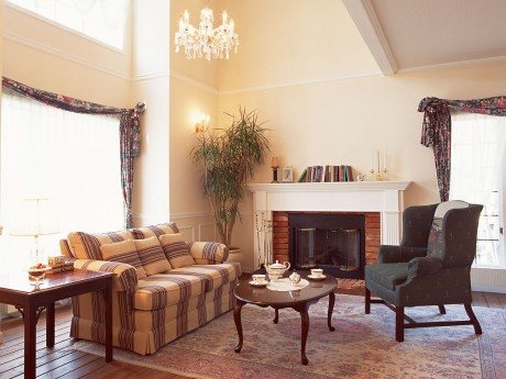 D coration salon chemin e - Decoration salon cheminee ...