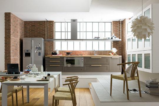 modèle décoration salon cuisine ouverte