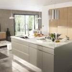 décoration salon et cuisine ouverte