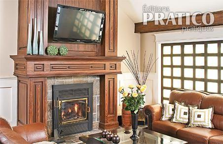 D coration salon foyer for Revue de decoration