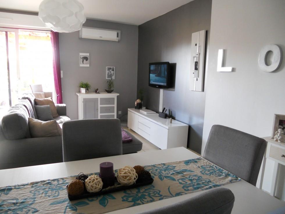 Salon en l cuisine en l ouverte americaine indogatecom for Decoration americaine pour salon