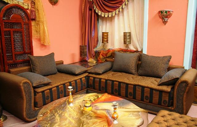idée décoration salon marocain moderne