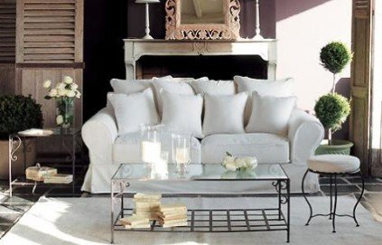 d coration salon romantique. Black Bedroom Furniture Sets. Home Design Ideas