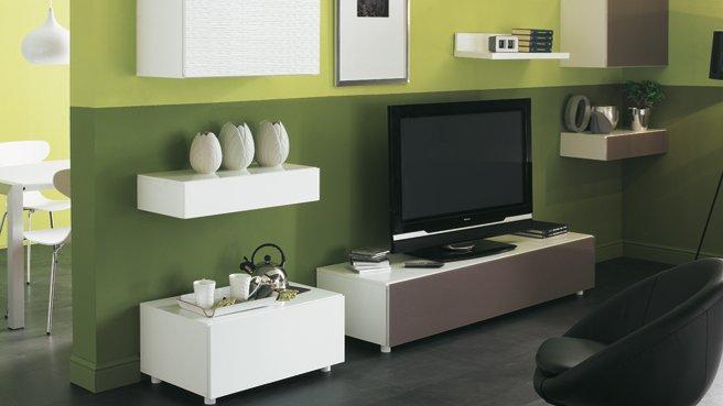 d coration salon vert. Black Bedroom Furniture Sets. Home Design Ideas