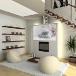 Photo décoration salon zen bambou - Photo Déco